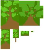 Texture Atlas - Trees