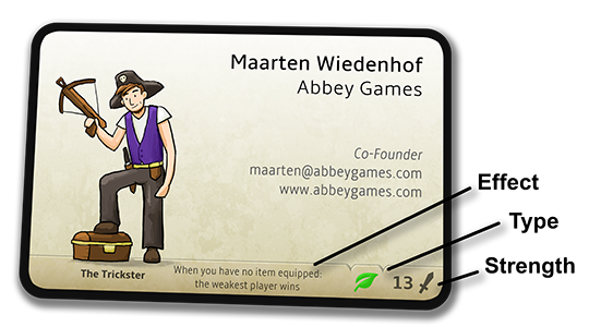 the business card trading card game abbey games abbey games